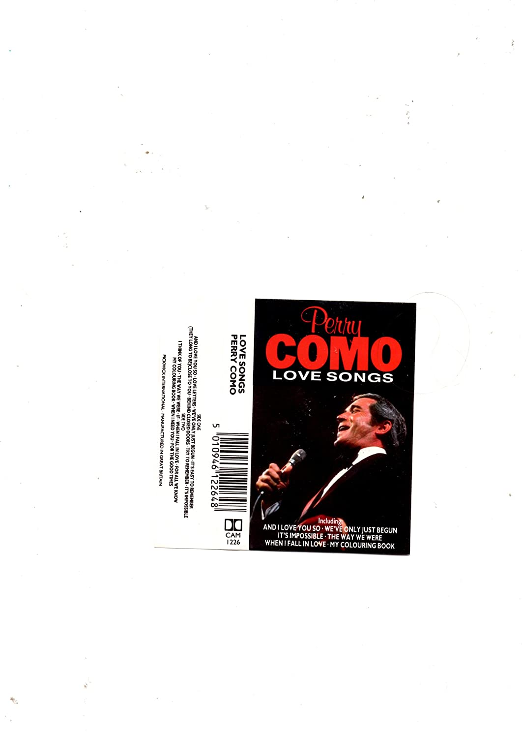 Perry Como - Love Songs - Amazon.com Music