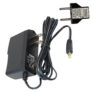 HQRP Adaptador de CA para Omron 705CP-II, HEM-759P-E2, 705 IT, 705 CP, 711 S, 750II Tensiómetro electrónico: Amazon.es: Electrónica