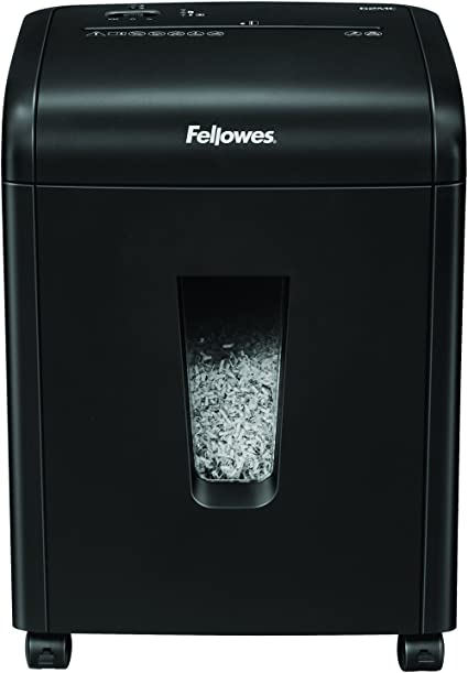 Oferta amazon: Fellowes 62Mc - Destructora trituradora de papel, microcorte, destruye hasta 10 hojas, uso personal, tritura tarjetas de crédito, color negro