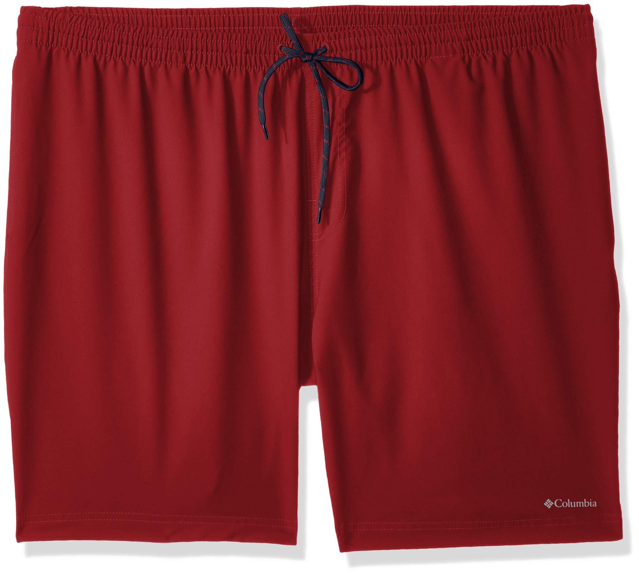 Columbia Men's Summertide Stretch Short-Big, red Element, 2Xx6
