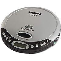 ION iCD06 Air CD Bluetooth Portable CD Player Silver Black