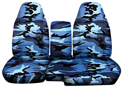 Swell 2004 2012 Ford Ranger Mazda B Series Camo Truck Seat Covers 60 40 Split Bench With Center Console Armrest Cover Blue Camouflage 16 Prints 2005 Dailytribune Chair Design For Home Dailytribuneorg