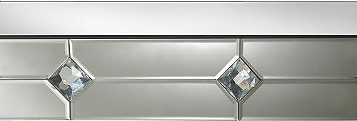 ACME Furniture Hessa Mirrored Console Table