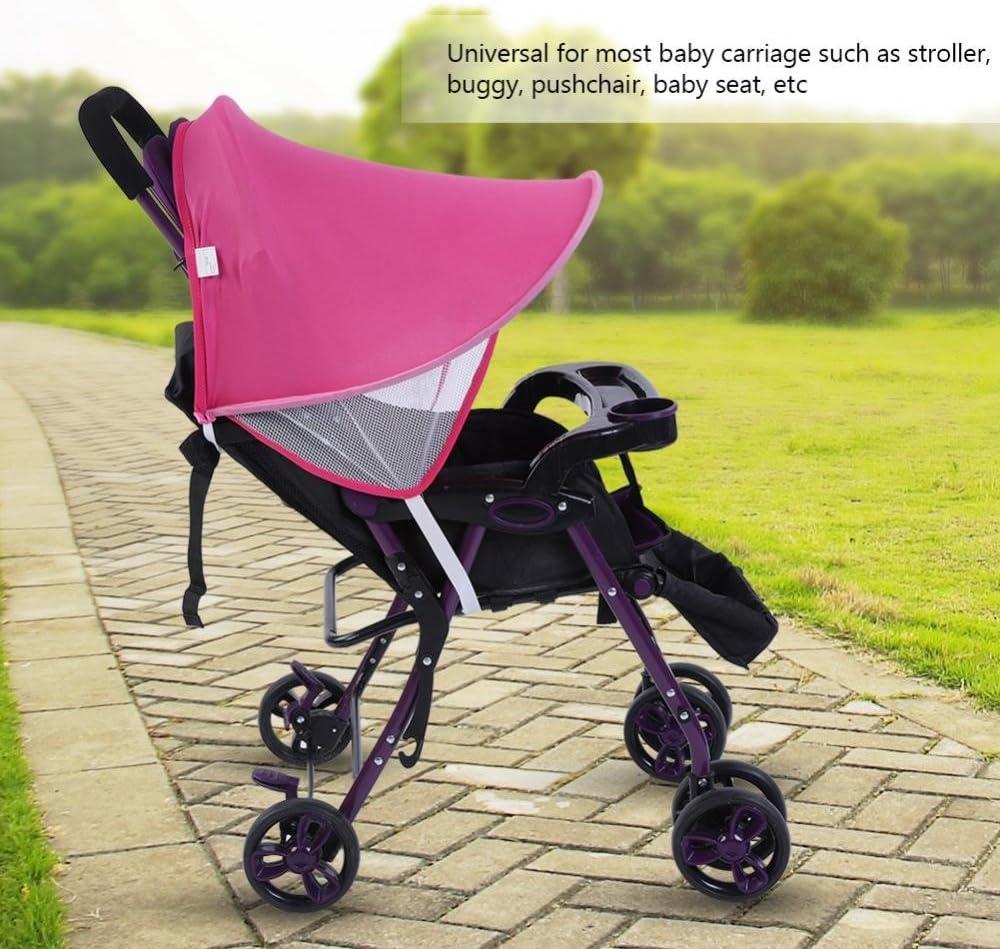 Soleil /ét/é Couvert Digne de Protection Contre Les Rayons UV Buggy Poussette Transport si/ège Haofy b/éb/é Poussette Poussette