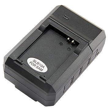 Amazon.com: Cargador de batería Samsung SLB-10 A para Select ...