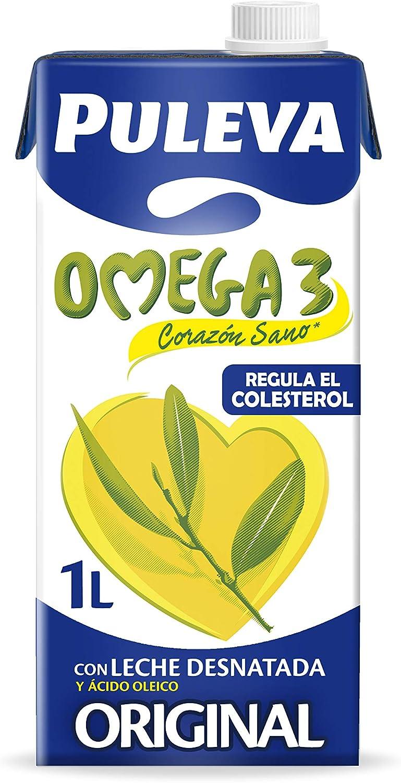 Puleva - Leche Omega 3, 1 L: Amazon.es: Alimentación y ...