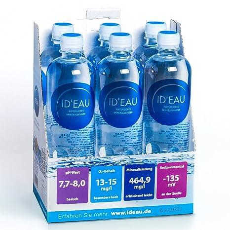 Agua Mineral ID eau regenerierendes Stilles Agua 0,65L XXL de Pack (30