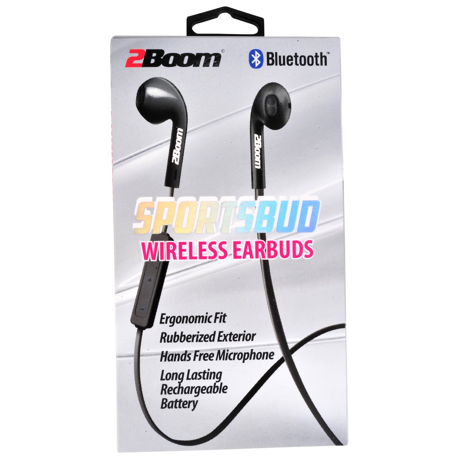 Amazon com: 2BOOM Sportsbud Wireless Bluetooth Rechargeable Earbud