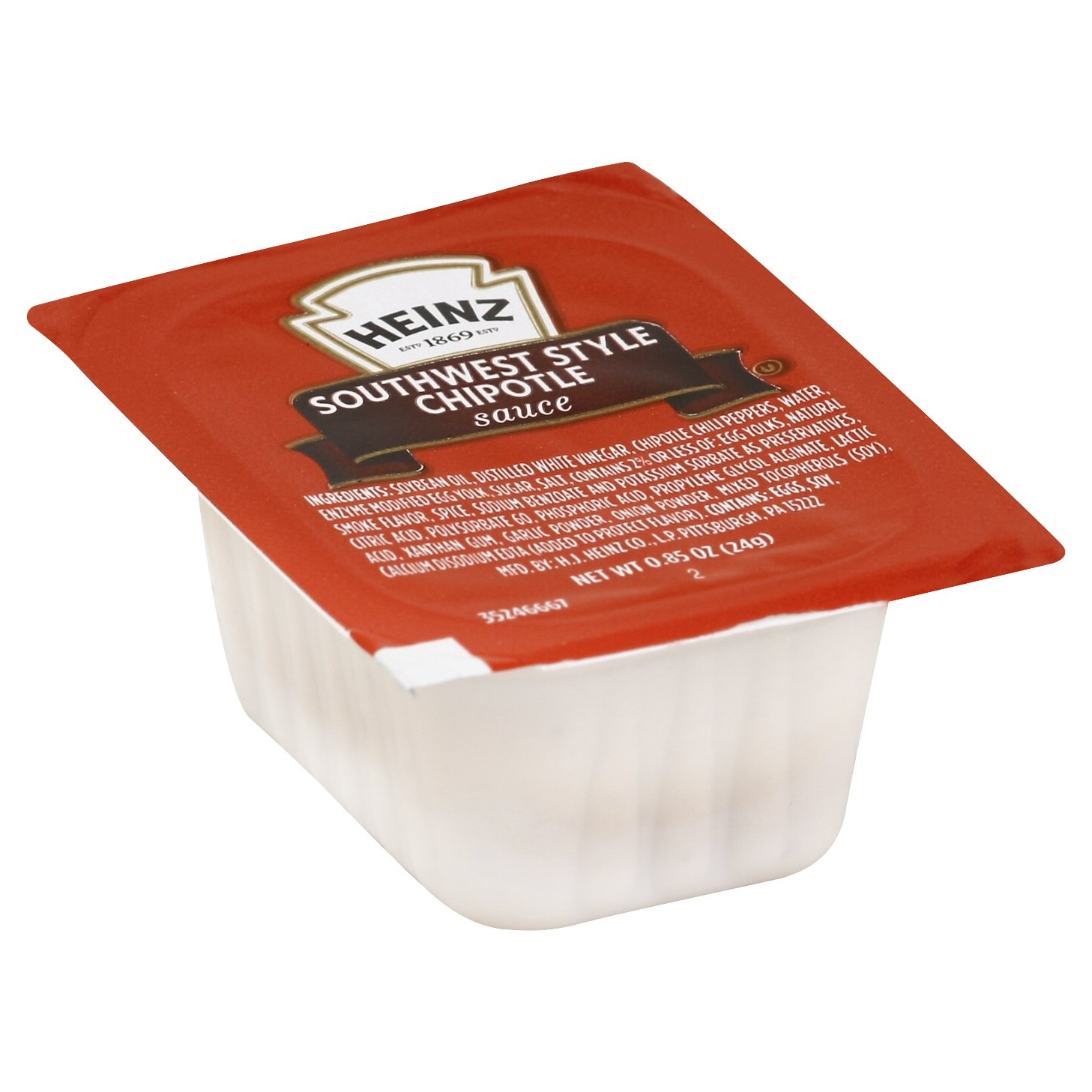 Heinz Southwest Style Chipotle Dipping Sauce, 0.85 Ounce - 100 per case.