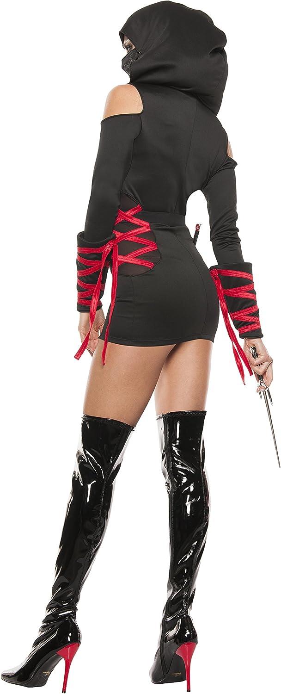 Starline Womens Sexy Strapped Up Ninja Costume Set