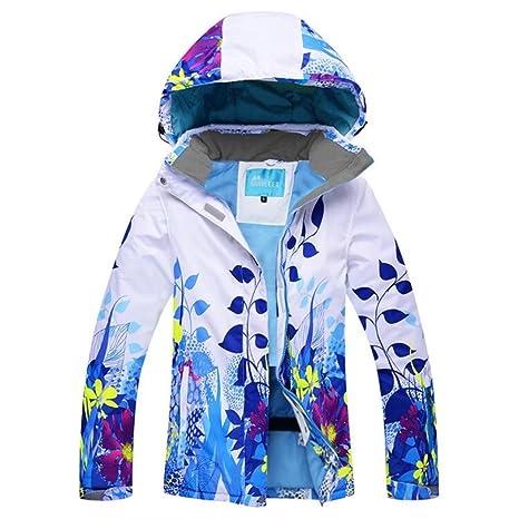 OLEK Women s Ski Jacket Windproof Winter Snowboarding Jackets Snow Skiing  Pants Set 5c0d4b560