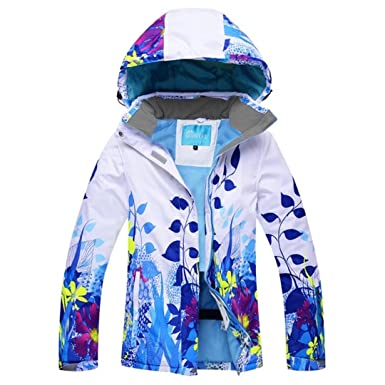 fd0f79cb79 Image Unavailable. Image not available for. Color  OLEK Women s Ski Jacket  Windproof Winter Snowboarding Jackets Mountaineering Snow Skiing ...