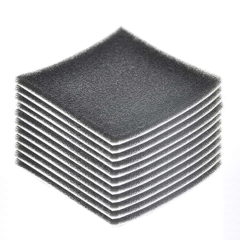 EZ SPARES 10Pcs Replacement for Kenmore CF1,Sears Progressive Foam Filter CF-1,Progressive & Whispertone, Panasonic Vacuum Cleaners, 86883, 86880, 20-86883, 2086883, 8175084