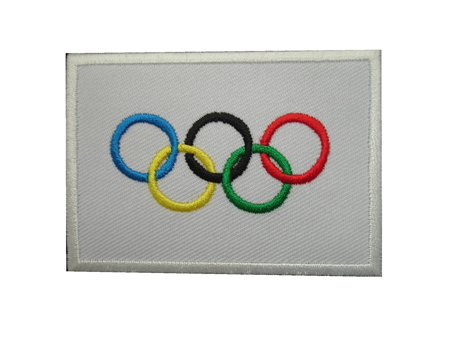 Amazon pieces olympics games flag iron on patch applique