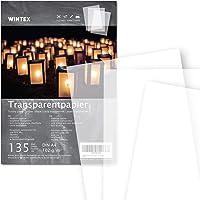 WINTEX 135 hojas de papel transparente DIN A4