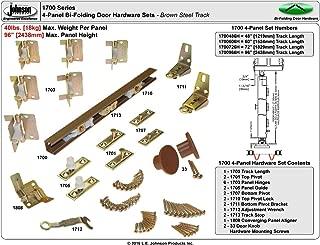 "product image for Johnson Hardware Bifold 60"" 1700 Closet Door Hardware"