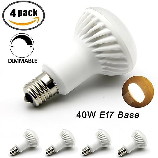 mcden E17 LED bombilla, aparato bombilla luz regulable ...