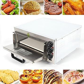 """PRIT 16"""" Horno eléctrico multifunción de sobremesa, Horno de pizza, horno tostador 2000W"""