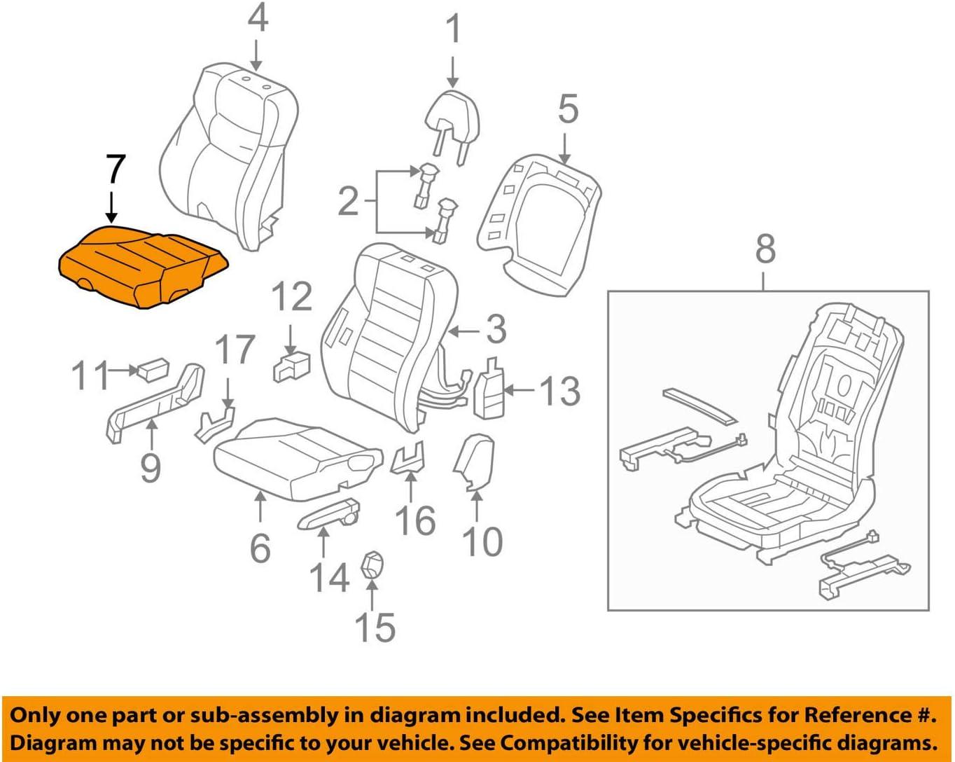 TOYOTA Genuine 71072-06051-K3 Seat Cushion Cover