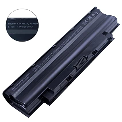 Bay Valley Parts J1knd Laptop Battery for Dell Inspiron N5010 N5030 N5040  N5050 N7010 N7110 N4010 N4110 M5030 M5010 M5110 3520, Vostro 3450 3550