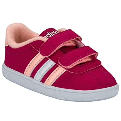 f444b280ec36 adidas Girls NEO Infant Girls VL Court Trainers in Pink - 2 Infant ...