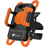 Amazon Price History for:TaoTronics Bike Phone Mount, Bicycle Holder, Universal Cradle Clamp -Fits iPhone 5 / 6 / 6S / 7 / 7 Plus, Galaxy, Pixel / Pixel XL, and More Smartphones - Orange