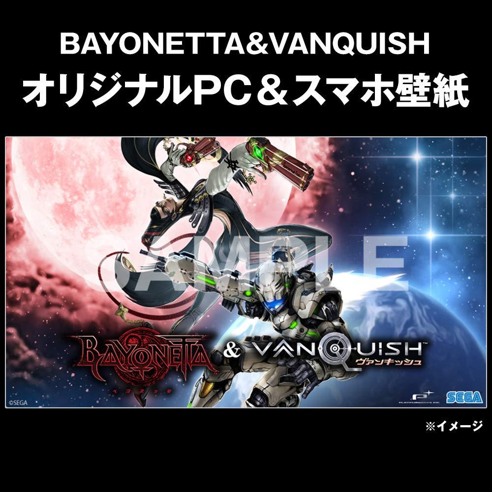 Mua Bayonetta Vanquish ベヨネッタ ヴァンキッシュ Amazon Co Jp限定 オリジナルpc スマホ壁紙 配信 Ps4 Tren Amazon Nhật Chinh Hang Fado