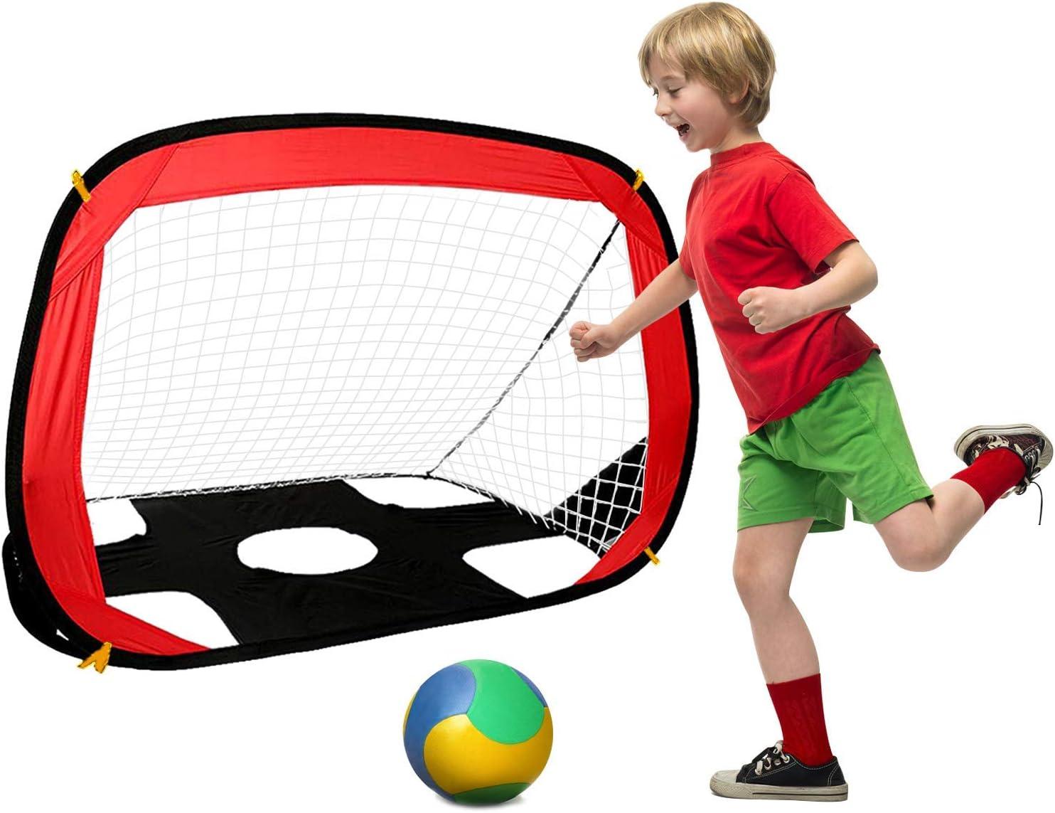 Porterías de fútbol para niños, 110 x 80 x 80cm Portería de fútbol ...