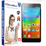 Cellbell Premium Lenovo A7000 / K3 Note Tempered Glass Screen Protector (Bronze Edition)(Clear)