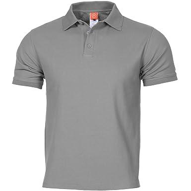 PENTAGON Hombres Aniketos Polo T-Shirt Wolf Gris: Amazon.es: Ropa ...