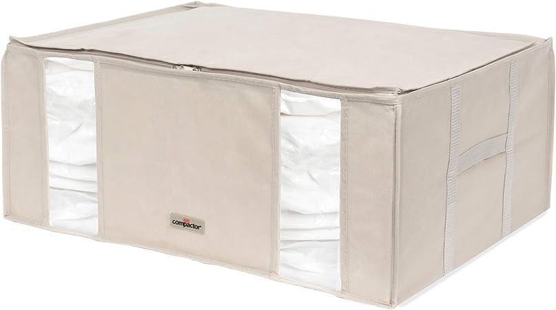 Compactor Housse De Rangement Sous Vide Taille Xxl 210l Beige Life 2 0 Ran7650 Amazon Fr Cuisine Maison