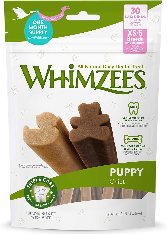 Whimzees Natural Daily Dental Dog Treats, Stix