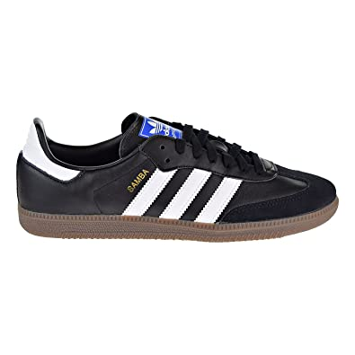 b3894051a Amazon.com | adidas Mens Samba OG Black White Gum Size 8.5 | Fashion  Sneakers
