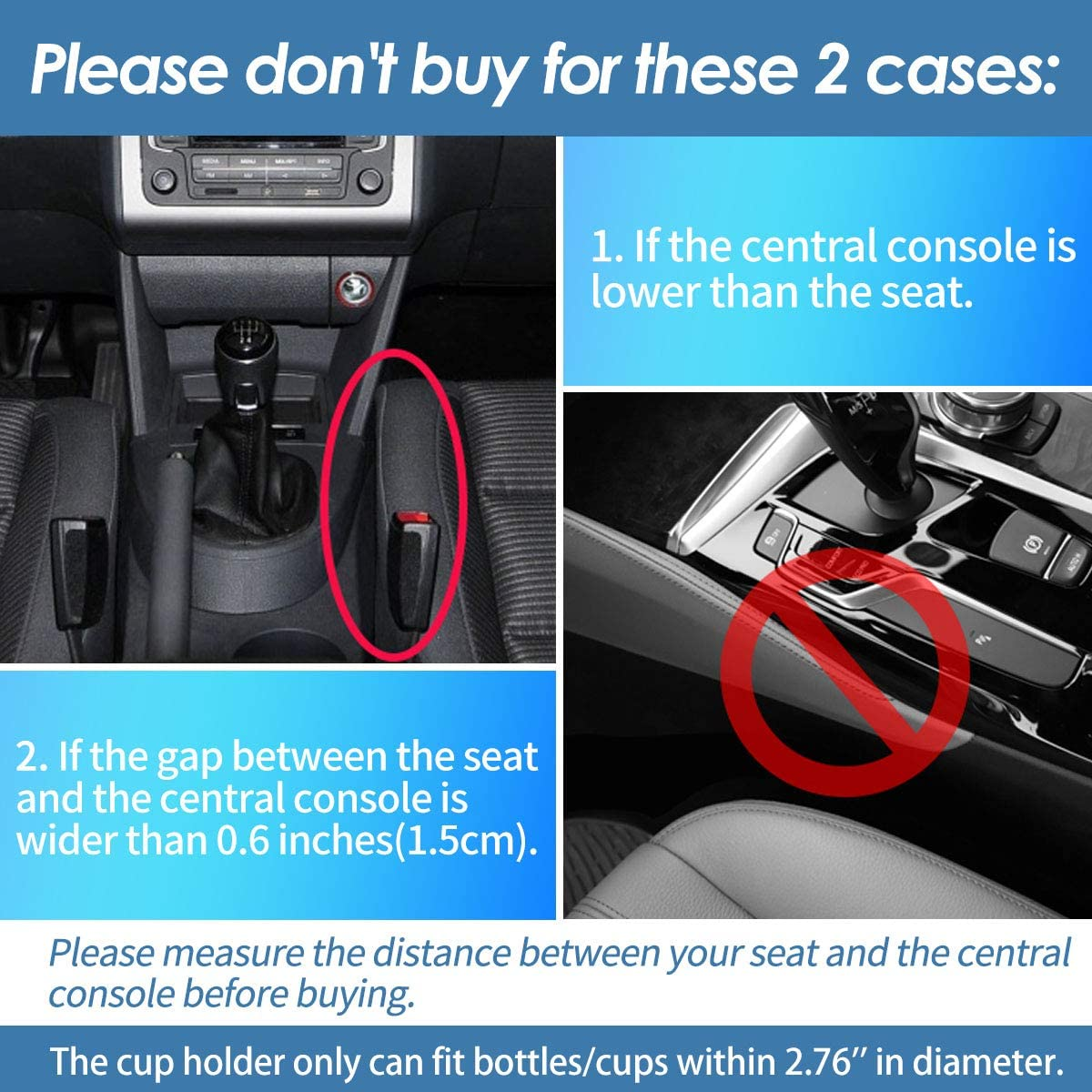 Car Accessories Interior for Driver Side with 2 hooks Jeteven 2 Packs Leather Car Seat Gap Filler Storage Box USB Charging Multifunctional with Cup Holder