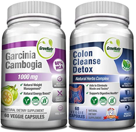 Amazon Com 15 Day Colon Cleanser Detox Garcinia Cambogia Weight