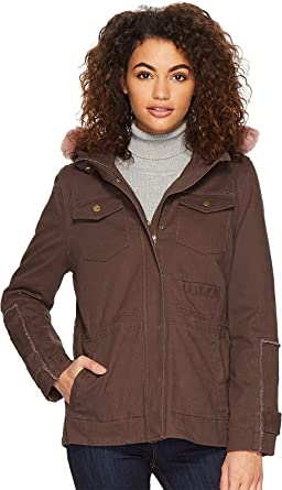 4dae98f4a16 UGG Women's Convertible Field Parka Olive X-Small at Amazon Women's ...