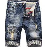 Pantalones Cortos de Hombre Talla Grande Deportivos Suelto Casuales Bermuda Secado r/ápido Playa Surf pantal/ón Cintura el/ástico