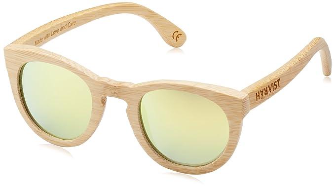HÄRVIST Unisex - Erwachsene Sonnenbrillen Waywood, mehrfarbig (bambú/verde), größe Einheitsgröße