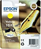 Epson C13T16344010 - 16XL - XL size - yellow - original - ink cartridge - for WorkForce WF-2010, WF-2510, WF-2520, WF-2530, WF-2540, WF-2630, WF-2650, WF-2660
