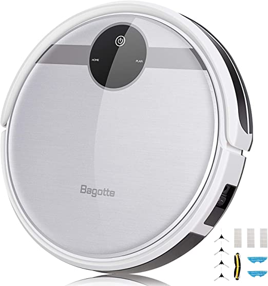 Robot aspirador Bagotte 3-en-1, robot aspirador con función de ...