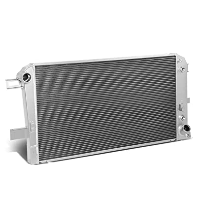 3-Row Full Aluminum Radiator Replacement for Chevy Silverado GMC Sierra 6.6L Duramax LB7/LLY AT 01-05: Automotive