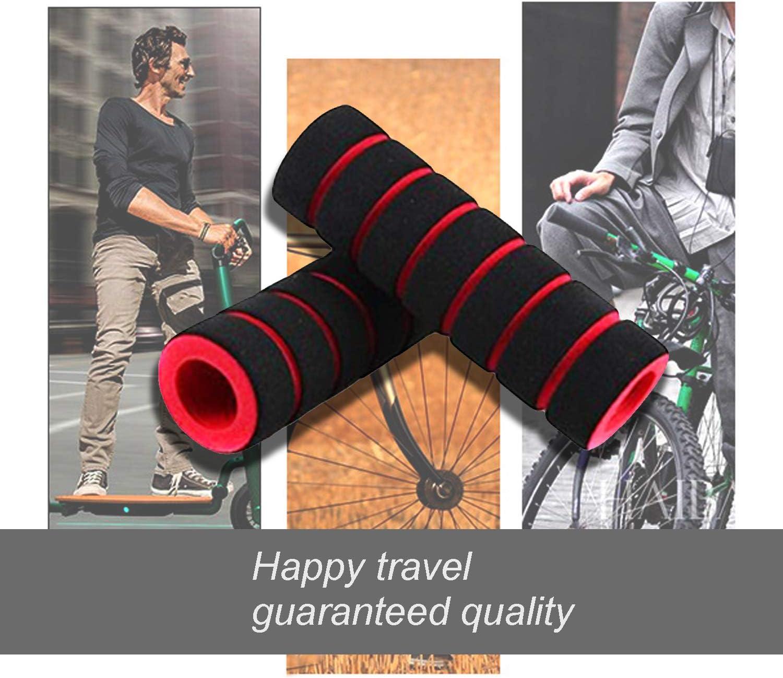 Scooter Vélo Poignées de guidon Couvercle Poignée Grip Cover Housse éponge QK