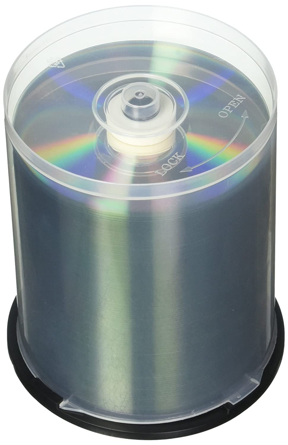 image relating to Verbatim Cd R Printable titled Verbatim CD-R 700MB 52X Dazzling Silver Silk Display Printable, Hub Printable - 100pk Spindle
