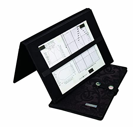 Knitpro kp10730 magma knitting chart keeper fold up style black