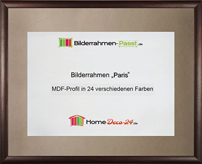 Palma MDF-Picture frame 21x62 cm (8,3x24,4 in) 62x21 cm Choice of ...