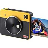 KODAK Mini Shot 3 Retro 2-in-1 Portable Wireless Instant Camera & Photo Printer, Compatible with iOS, Android…