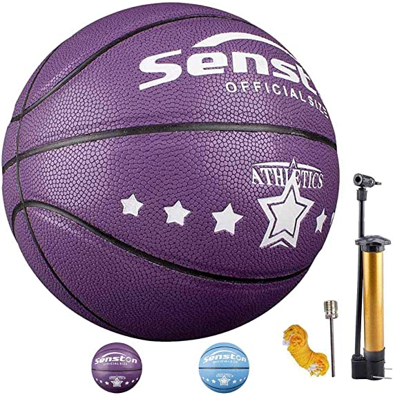 Senston Balon Baloncesto Niños Fluorescente Balon de Baloncesto ...