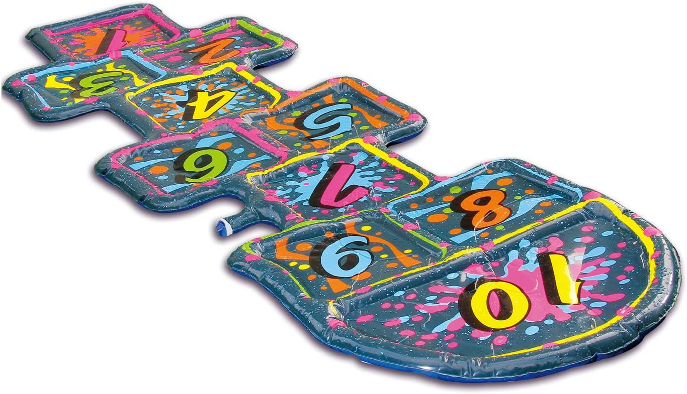 """Summer Waves 95 X29/"""" 3D Hopscotch Sprinkler with 1 Pair of 3D Goggles"""
