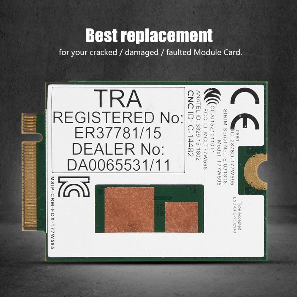 Fosa for HP LT4120 for Snapdragon X5 LTE T77W595 796928-001 4G WWAN M.2 Modem Module 150Mbps