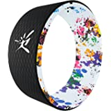 Yoga Wheel - Strongest Most Comfortable Dharma Yoga Prop Wheel for Yoga Poses, Perfect Foam Roller For Stretching, Increasing Flexibility and Improving Backbends, 13 x 5 Inch Yoga Circle